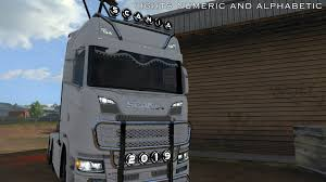 100 Lights For Trucks Numeric And Alphabetic For All 134x ETS2
