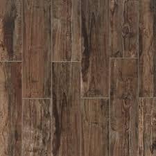 Westford Brown Wood Plank Porcelain Tile