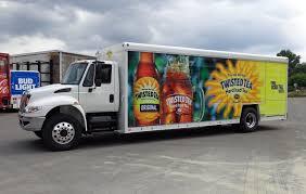 100 Sysco Trucking Navistar Twisted Tea VT Hackney Sideloader Beverage Truck