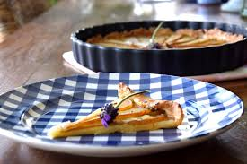 birnenkuchen mit lavendel der kuchen zum und die