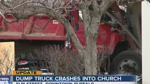 Dump Truck Slams Into Downtown Buffalo Church