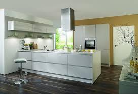 laser premiumweiß moderne grifflose küche mit halbinsel