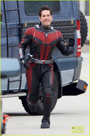 Paul Rudd Halloween 6 Interview by Rudd Goes On The Run In New Ant Man And The Wasp Set Pics