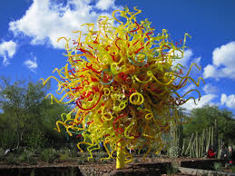 The Patio At Las Sendas by Chihuly In The Garden At The Phoenix Desert Botanical Garden