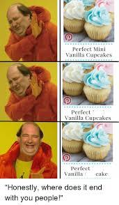 The Office Cake And Cupcakes Perfect Mini Vanilla Cupcake