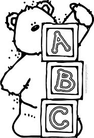 Abc Animal Coloring Pages Wecoloringpage Printable Educations For