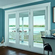 Sliding Door With Blinds In The Glass by Doors