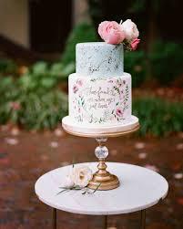 Cake Decoration Ideas With Gems by 52 Small Wedding Cakes With A Big Presence Martha Stewart Weddings