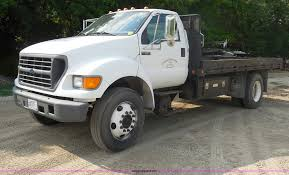 2000 Ford F650 Super Duty Flatbed Truck | Item G8981 | SOLD!...