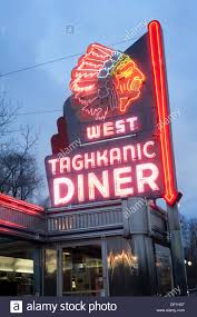 100 Taghkanic New York West Diner Hudson USA Stock Photo 60886231