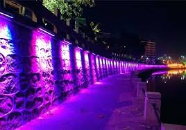 outdoor wall wash lighting creative ideas outdoor wall wash