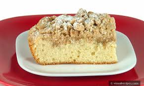 Coffee Cake Crumb Cake Recipe Visual Recipes