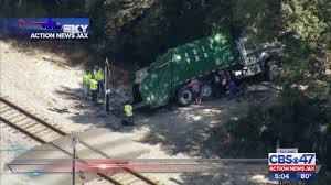 100 Train Vs Truck Video WJAXTV