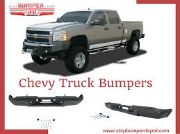 100 Truck Bumpers Chevy Shop FrontRear Step Bumper For Online Off