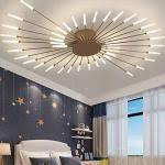 goldene deckenleuchten wohnzimmer günstig kaufen