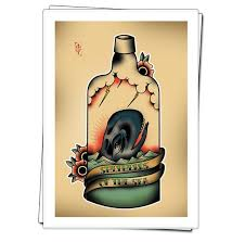 Sailor Jerry Style Print Shepherds Of The Sea By Epiphany1934 Sailorjerry