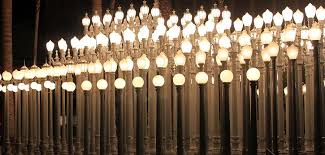 Lights At The Lacma La County Museum Art 0766 graph by