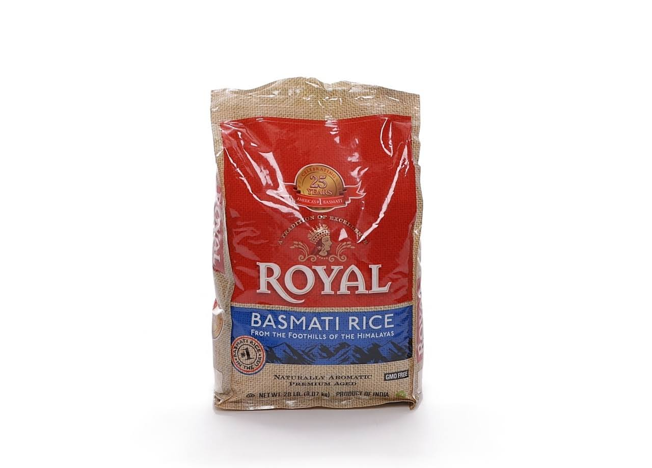 Royal Basmati Rice - 20lbs