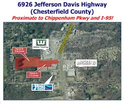 100 Wilson Trucking Richmond Va 6926 Jefferson Davis Hwy VA 23237 Commercial Property