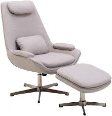 Amazon.com: Hanover Westin Mid-Century Modern Scoop Ottoman ... Midcentury Modern Comfortable Light Grey Cashmere Lounge Chair High Back Buy Mid Century Chairhigh Chairlounge Georg Jsen Mahogany And Rope 1967s Danish High Back Mid Century Lounge Chair 1970s Design Market Hughes Refinished Solid Teak Mcm Recling Perfect Will Be Upholstered For You Vintage Dux La Authentic Milo Baughman Reclinerlounge In Black 1960s Midcentury Finds Set Of His Hers Parlor Chairs Whosale Ding Room Fniture Adrian Pearsall Slim Jim 1865c