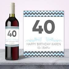40th Birthday Decorations For Him by 30th Birthday Decorations Wine Label 30th Birthday Wine