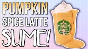 When Are Pumpkin Spice Lattes At Starbucks by Diy Slime Starbucks Pumpkin Spice Latte Youtube