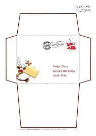 santa claus letter template – aimcoach