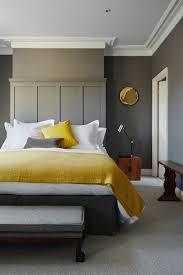 banc chambre coucher deco chambre gris et jaune 12 lit banquette de grise lzzy co