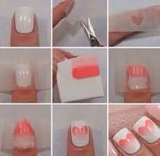 Easy Nail Art Designs To Do At Home Step By Beautiful Using Sponge