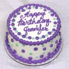 purple double layer birthday cake 300x300