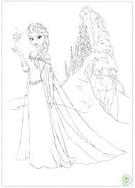 Frozen Coloring Pages Pdf Free Printable Kids