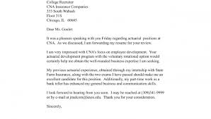 Cna Cover Letter Sample With No Experience