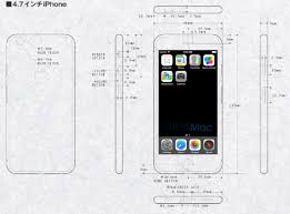 iPhone 6 with larger sharper 1704 x 960 resolution screen in