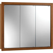 Broan Nutone Medicine Cabinets by Pegasus 30 In X 30 In Frameless Recessed Or Surface Mount Bi