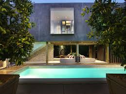 Home Designs: Private Courtyard - Secluded Luxury House Sporting ... Courtyard House Plans Home Shaped Residence In U Designs With In Ahmedabad India Bold And Modern Ushaped Designed Around Trees Design Spanish Style Courtyards Hacienda A Sleek With Indian Sensibilities An Interior Unique The Hiren Patel Architects Archdaily Download Traditional Home Plan Small Floor Central Serene Pond
