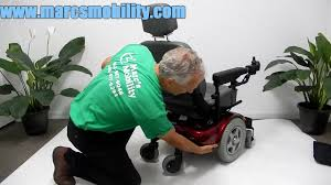 invacare pronto m91 by marc s mobility youtube