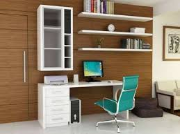 modern white home office shelves the desk white with drawers