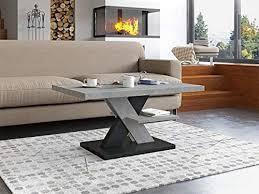 couchtisch betonoptik moderner wohnzimmertisch beton grau wohnzimmer sofatisch kaffeetisch modern matt sofa tisch mit
