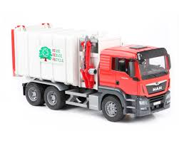 Bruder #03761 MAN TGS Side Loading Garbage Truck - New Factory ...