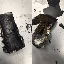 iPhone 6 battery caught on fire Literally burnt to flames while