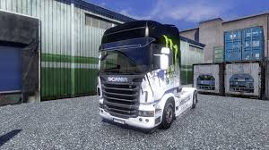 100 Monster Truck Simulator Color Energy Truck Scania For Euro 2