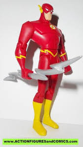 Justice League Unlimited FLASH Lightning Bolt Silver Wally West Dc Universe