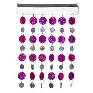 Magnetic Locker Curtain, Silver
