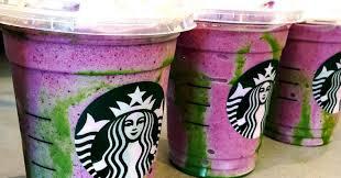 Starbucks Barista Invents Mermaid Frappuccino