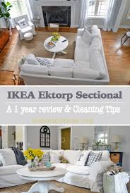 A Review Of The Infamous Ikea Ektorp Sectional After Living With It For Little