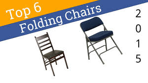 6 Best Folding Chairs 2015