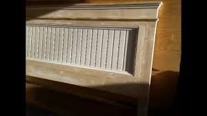 Ana White Farmhouse Headboard by Fancy Farmhouse King Size Bed Build Ana White Design Youtube
