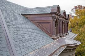 synthetic slate and shake by ecostar innovative roofs house