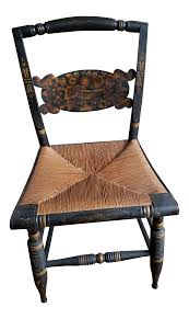 1800's Antique Hitchcock Chair   Chairish Identifying Old Chairs Thriftyfun Highchairstroller Pressed Back Late 1800s Original Cast Wheels Antique Wood Spindle Back Rocking Chair Ebay Childs Cane Seat Barrel English Georgian Period Plum With Century Wirh Accented Arms Sprintz Original Birdseye Maple Hand Cstruction Etsy I Have A Victorian Nursing Rockerlate 1800 Circa There Are 19th 95 For Sale At 1stdibs Bentwood Wiring Diagram Database Hitchcock Chairish Oak Rocker And 49 Similar Items