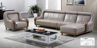 canapé cuir tissu meubles de salon moderne en forme de u en cuir tissu coin sofa
